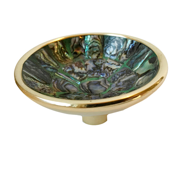 Williams Small Cup Pull - Peacock Mother of Pearl