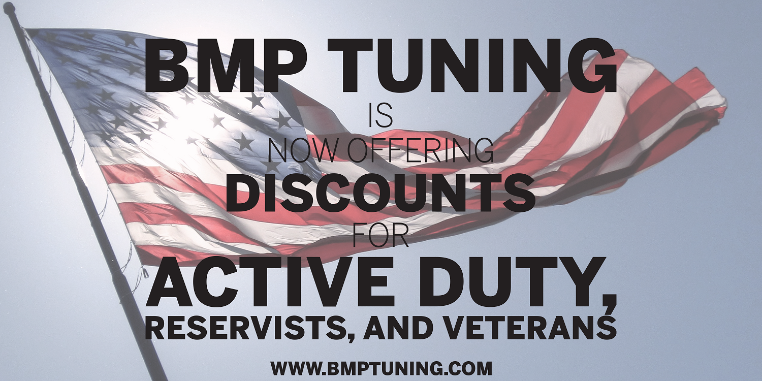 BMP Tuning Military Discount Program