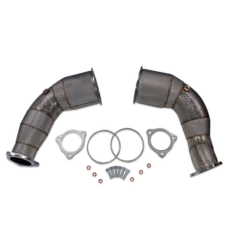 034 Motorsport Stainless Steel Racing Catalytic Converters B9 RS5