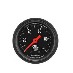 AutoMeter Z-Series 100 PSI Oil Pressure Gauge