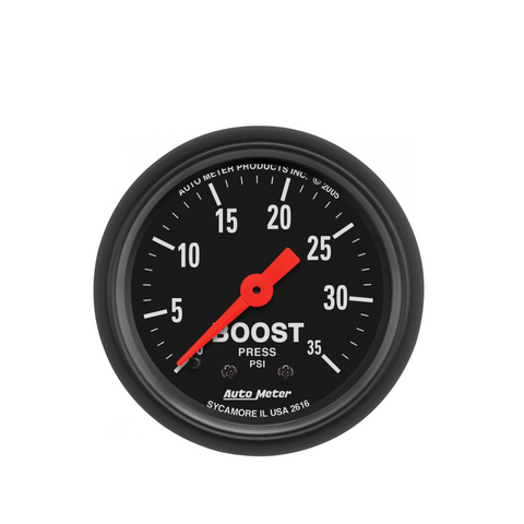 AutoMeter Z-Series 35 PSI Boost Pressure Gauge