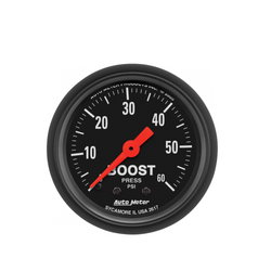 AutoMeter Z-Series 60 PSI Boost Pressure Gauge