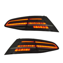 BEC LED Smoked Ed's MK7.5 Style Tail Lights MK7