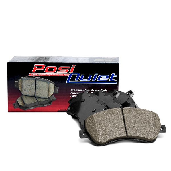 Centric PosiQuiet Ceramic Rear Brake Pads 105.11081