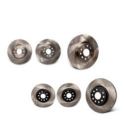 Emmanuele Design Front Rotors Slotted 312x25mm