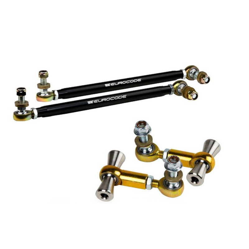 Eurocode ÜSS Front & Rear Adjustable End Links MK7 · 8V · 8S