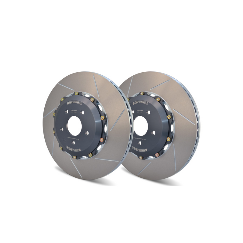 GiroDisc Front Rotors Slotted 8J TT RS