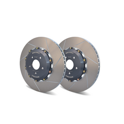 GiroDisc Front Rotors Slotted MK7 R