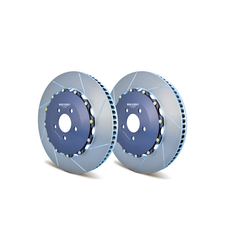 GiroDisc Front Rotors Slotted R8 · B8 RS5 · C5 RS6