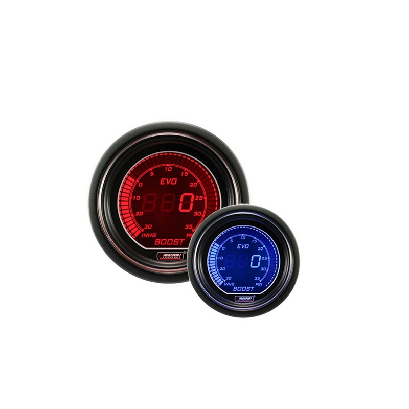 Prosport Evo Series Digital Boost Gauge