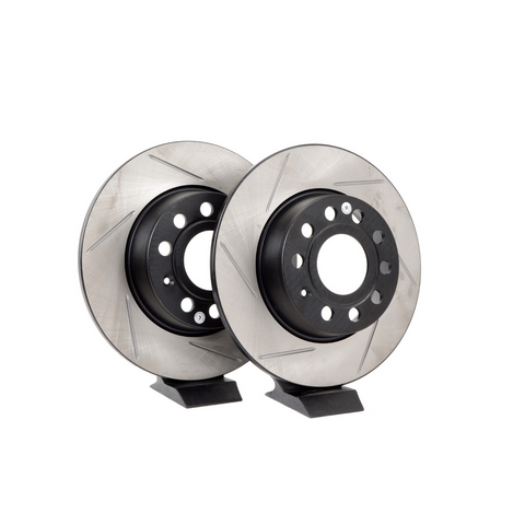 STOPTECH Rear Rotors Slotted 253x10