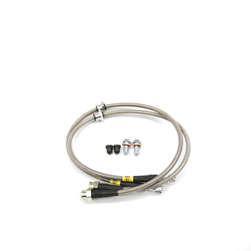 STOPTECH Stainless Steel Rear Brake Lines MK6 · MQB
