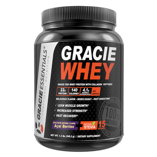Gracie Essentials Whey Protein and Collagen with Acai