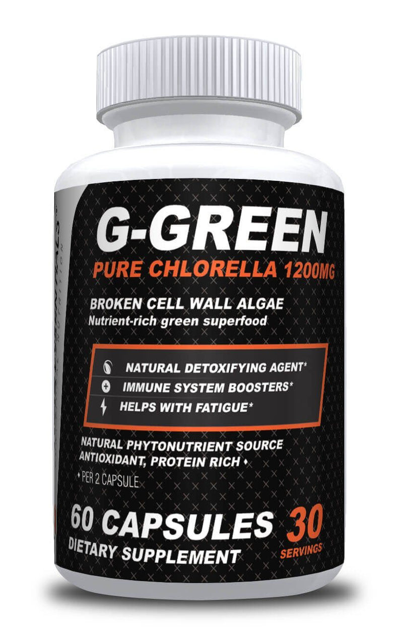 Gracie Essentials G-Green Chlorella Supplement