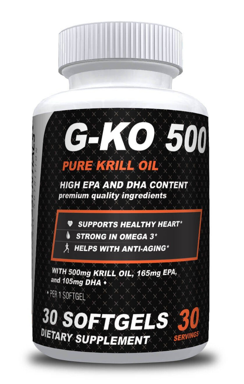 Gracie Essentials G-KO Krill Oil Supplements