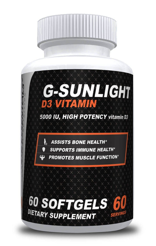 Gracie Essentials G-SUNLIGHT D3 VITAMIN with 5000 UI