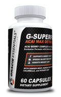Gracie Essentials G-SUPERFOOD ACAI MAX DETOX