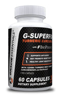 Gracie Essentials G-SUPERFOOD TURMERIC CURCUMIN