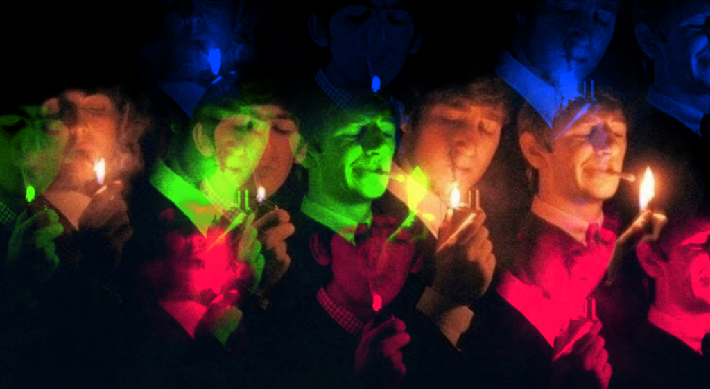 SMOKING WITH THE BEATLES