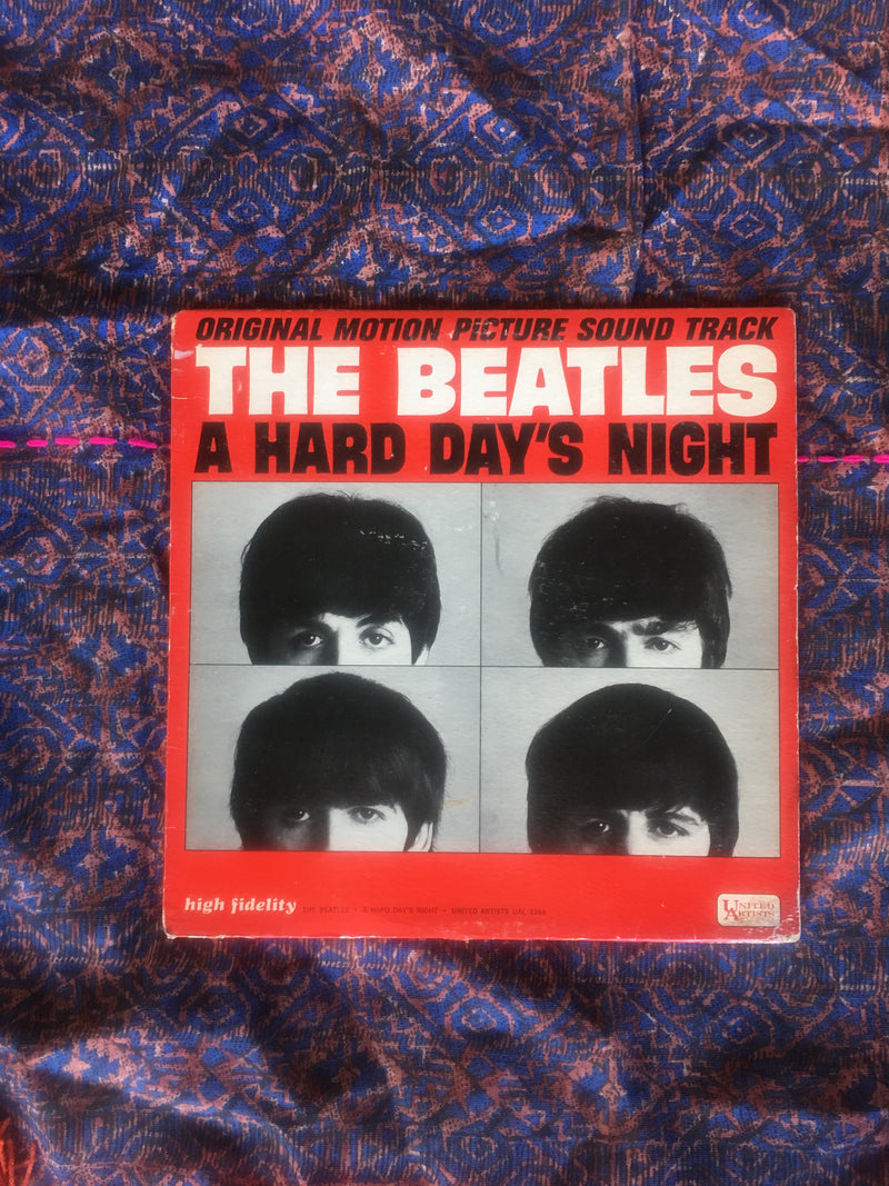 THE BEATLES HARD DAYS NIGHT VINYL