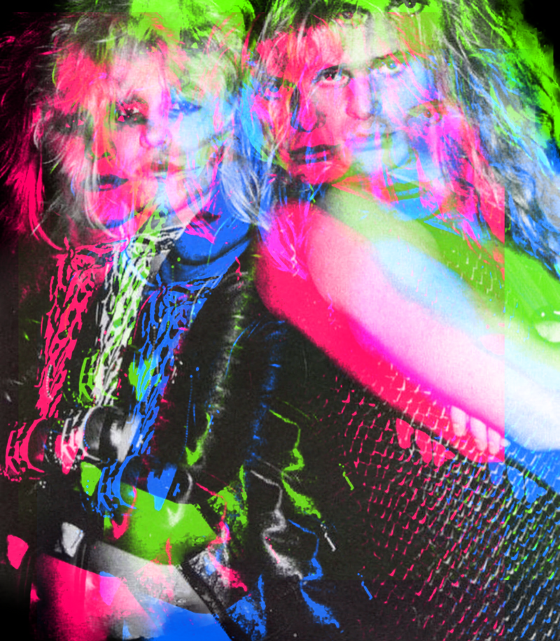 VINCE NEIL AND DAVID LEE ROTH
