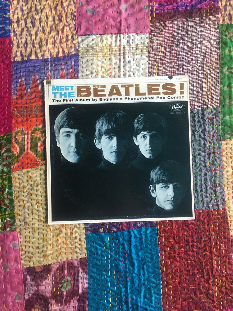 MEET THE BEATLES VINYL