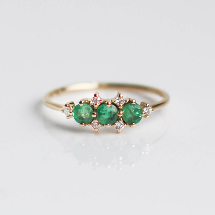Emerald Celestial Wonder Ring