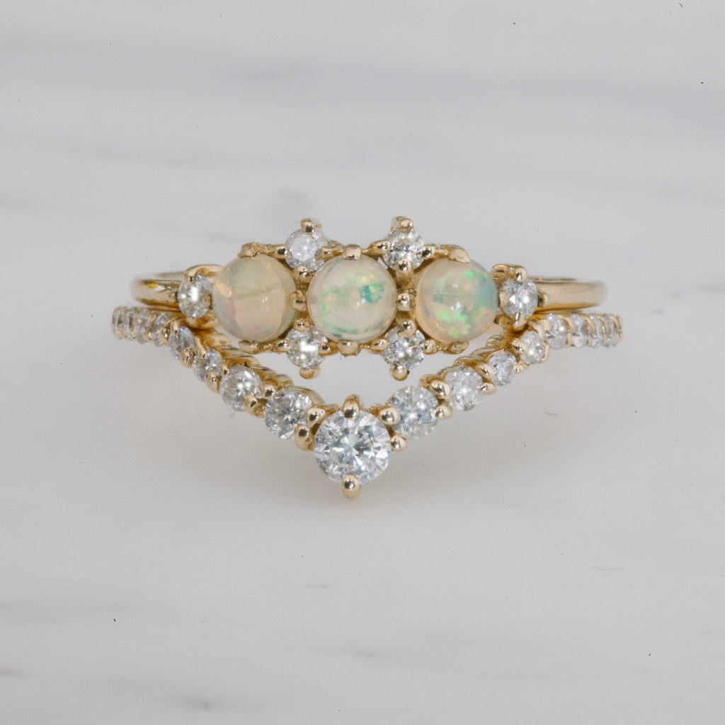 bright rings gem opal diamonds natural engagement color colorful ring gold diamond flashopal