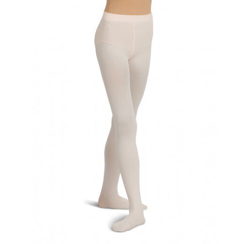 Capezio Ultra Soft Self Knit Waistband Footed Tight - Child