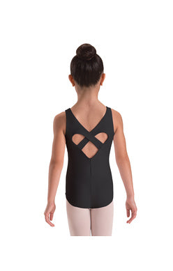 Motionwear Wide Strap Heart Back Leo