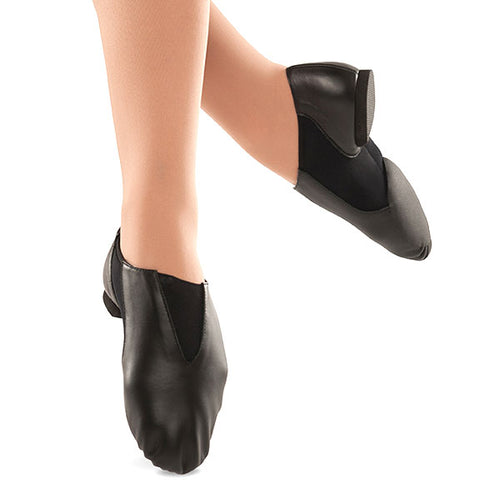 Danshuz Women's Jazz Contour Slip On Leather