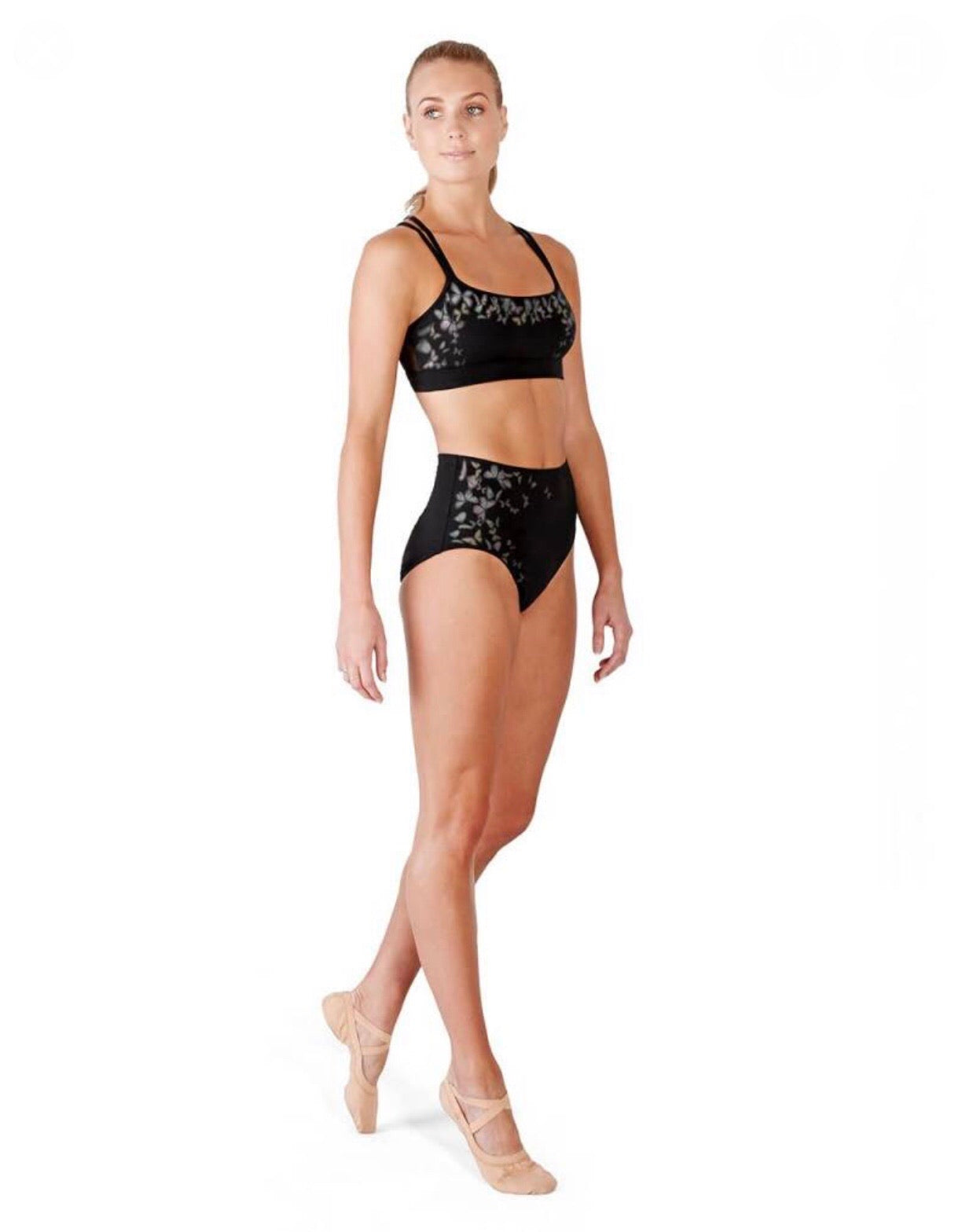 Bloch High Waisted Dance Brief - Adult