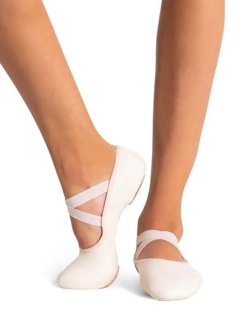 Capezio Hanami Leather Ballet Shoes - Adult