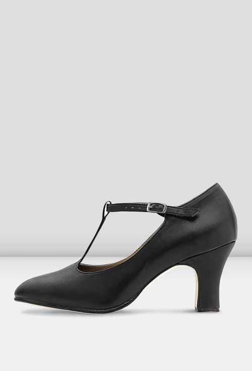 Bloch Chord T-Strap 3 inch Heel Character Shoes