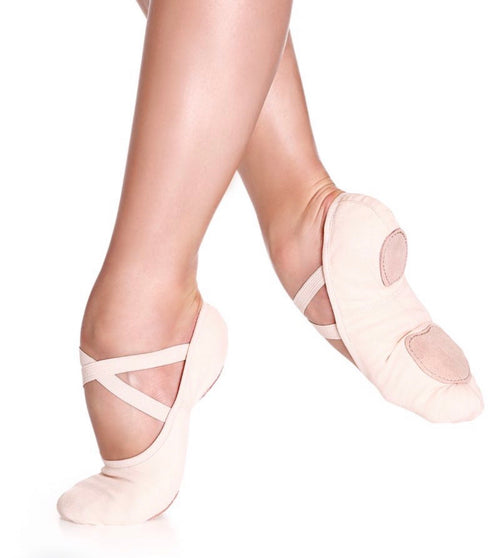 "So Danca ""Bliss"" Stretch Canvas Split Sole Ballet Slipper - Adult"