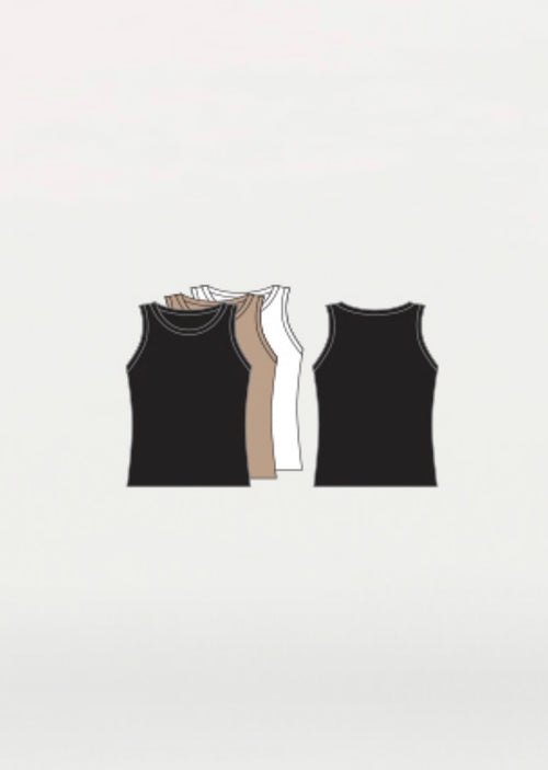 Body Wrappers Boys Tank Top