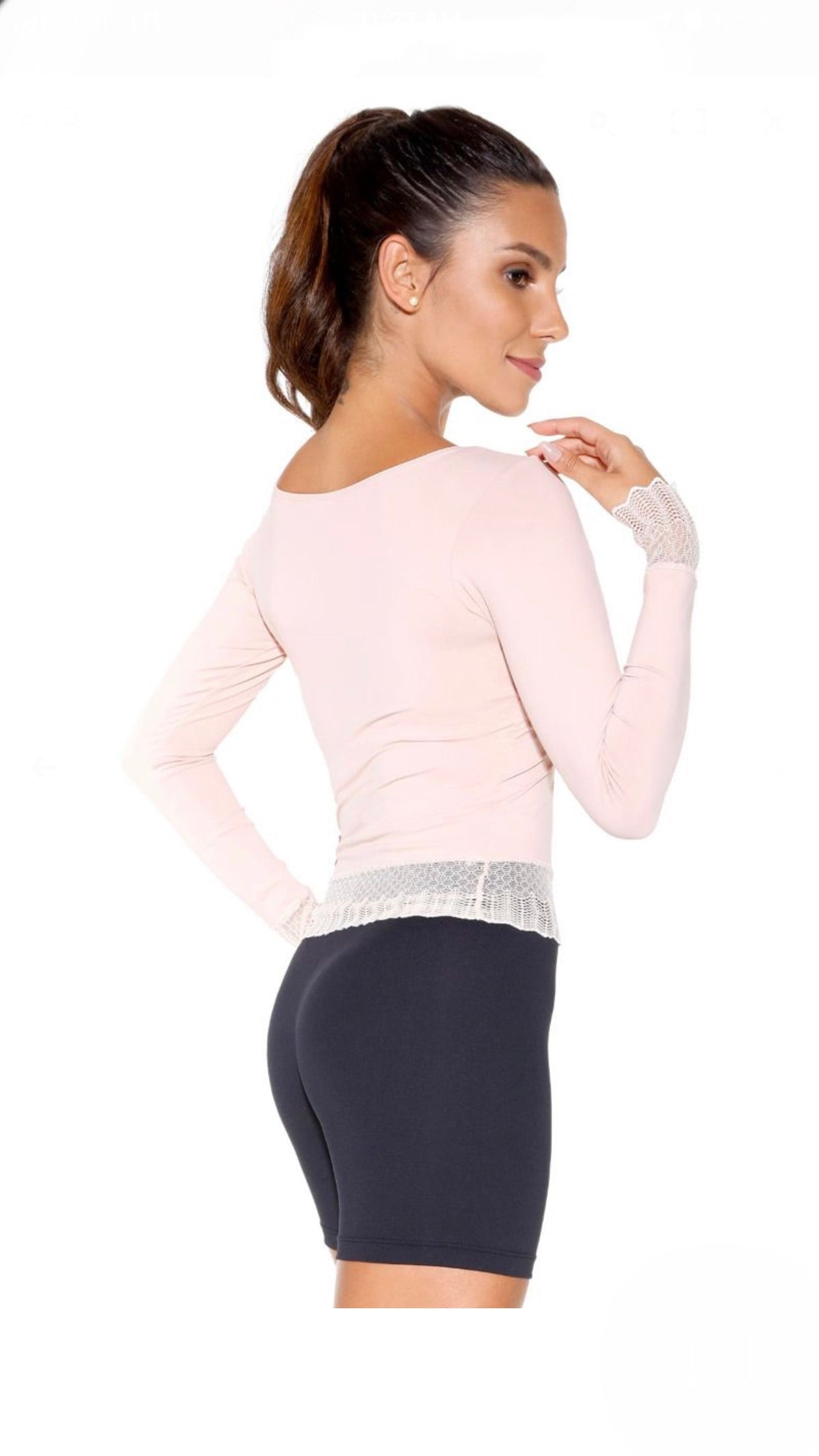 So Danca Long Sleeve Dance Top