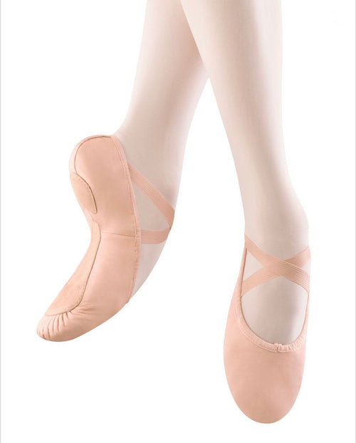 Bloch/Mirella Articulation Leather Split Sole Ballet Shoes