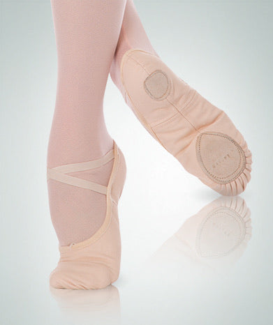Body Wrappers TotalSTRETCH® Canvas Ballet Slipper - Adult