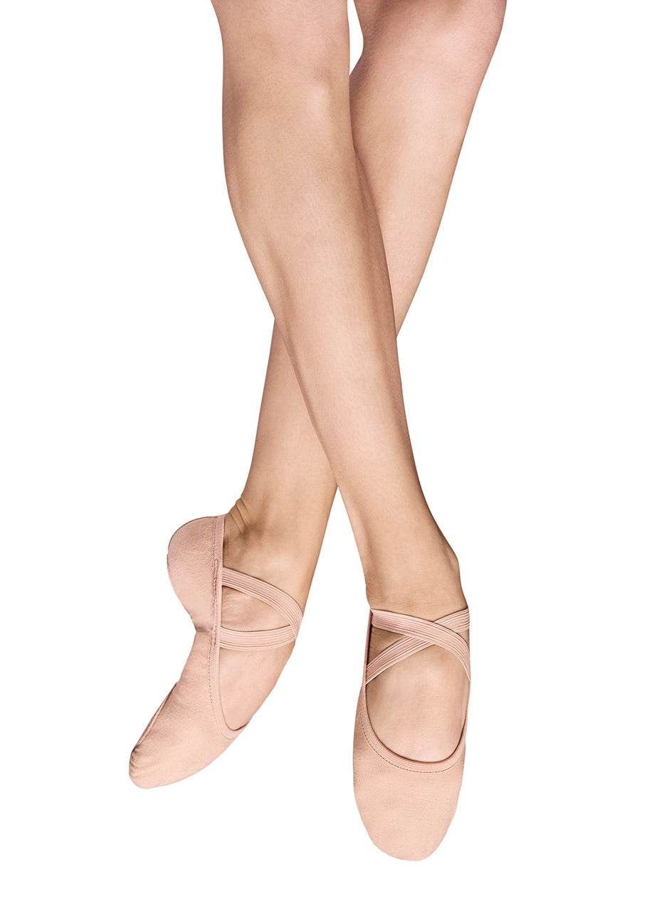 Bloch Performa Stretch Canvas Ballet Shoes - Ladies