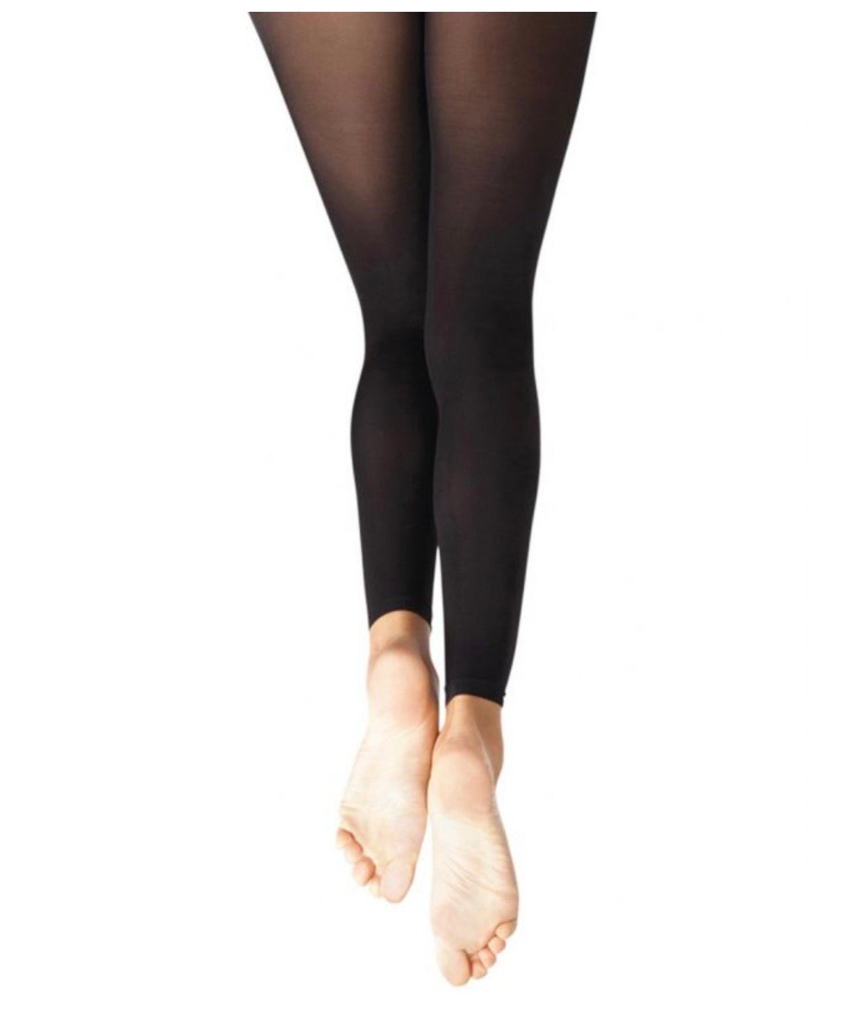 Capezio Ultra Soft Footless Tight w/ Self Knit Waistband - Child