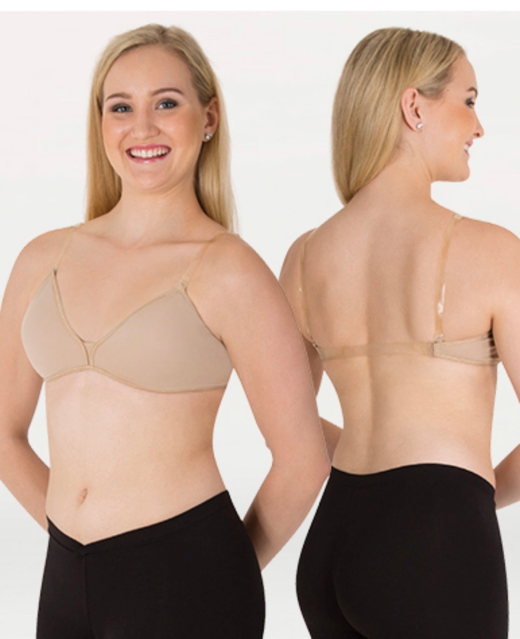 Body Wrappers Total Stretch Convertible Bra - Adult