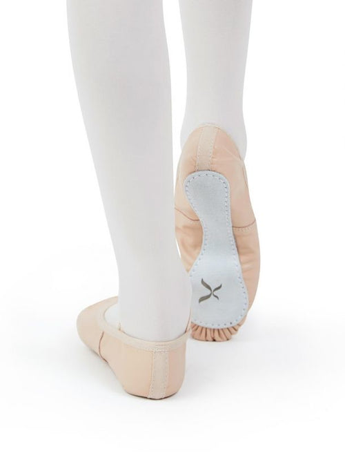Capezio Daisy Full Sole Leather Ballet Shoes - Child