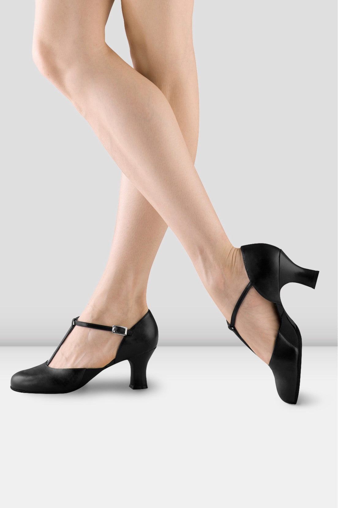 Bloch Split Flex Leather Character Shoes