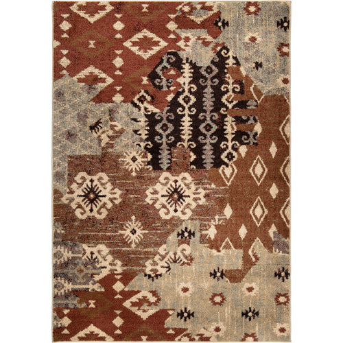 Orian Rugs American Heritage Collection Kilim Patches Area Rug