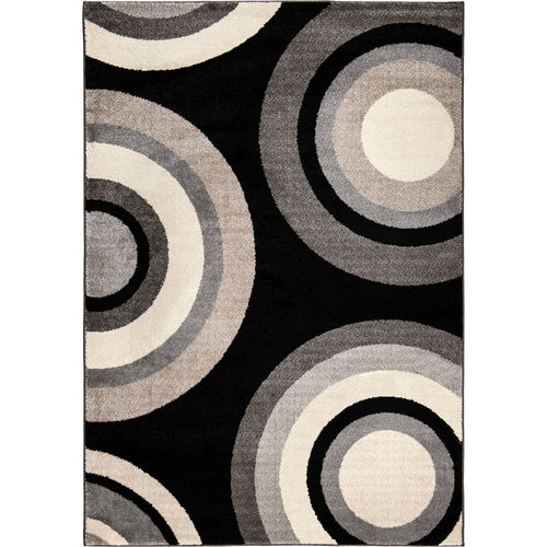 Orian Rugs American Heritage Collection Roundtree Black Area Rug