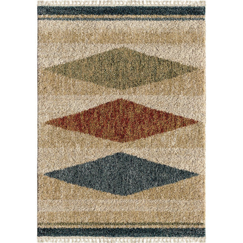 Orian Rugs Bedouin Argana Multi Area Rug with Fringe