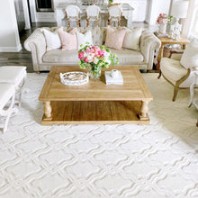 My Texas House by Orian Indoor/Outdoor Cotton Blossom Natural Area Rug