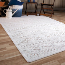Orian Boucle Indoor/Outdoor Jenna Natural Area Rug