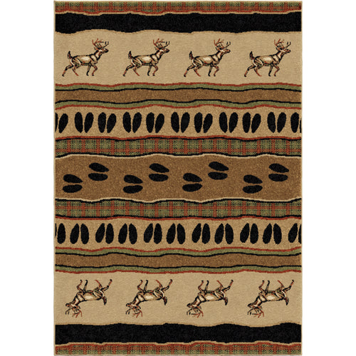 Orian Rugs Oxford White Tail Bisque Area Rug